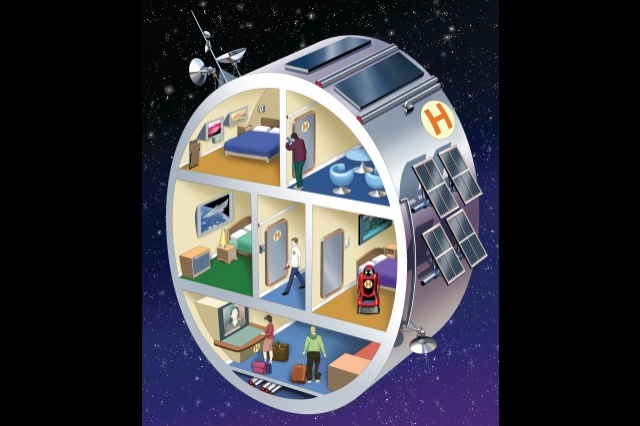 Hotels of the future e t magazine for Jobs in outer space