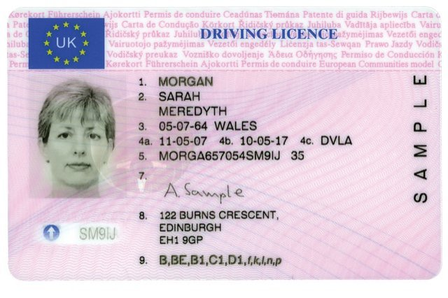 fake driving licence template - the a z of fakes f i e t magazine