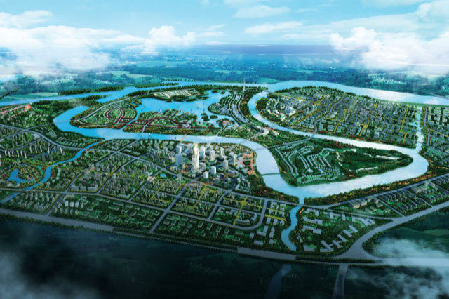 Tianjin eco city blueprint for the future et magazine artist impression of sino singapore tianjin eco city malvernweather Choice Image