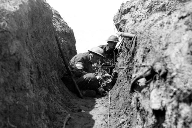 Ww1 First World War Communications And The Tele Net Of