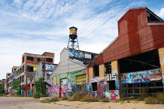 Detriot Decline And Fall Of The Motor City E T Magazine