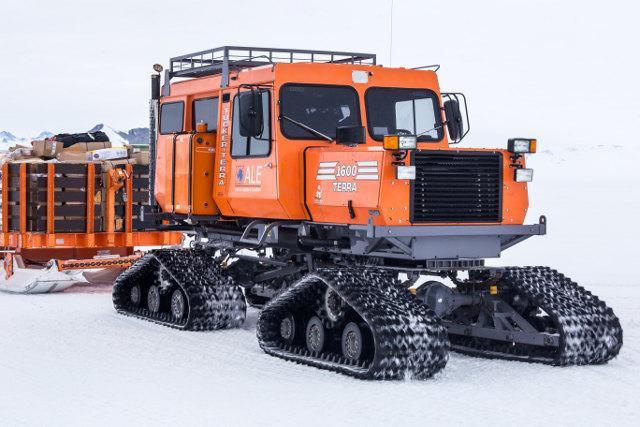 Polar vehicles get ice traction | E&T Magazine