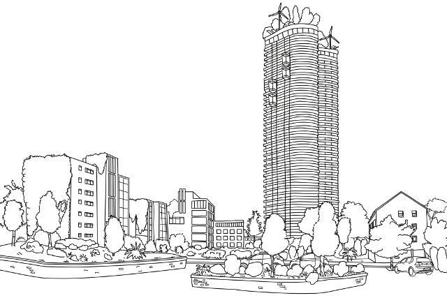 greening a smart city