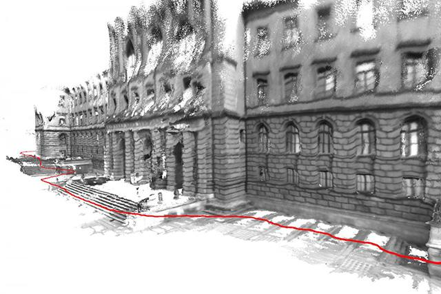 Entire building exterior 3D-mapped with tablet | E&T Magazine